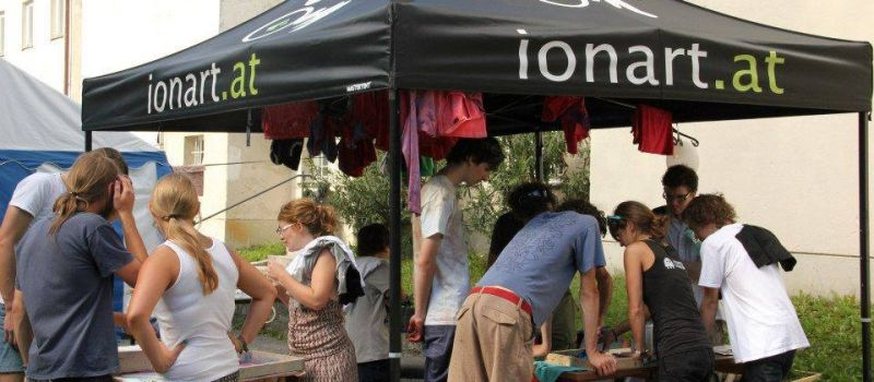 ionart x screen printing workshop
